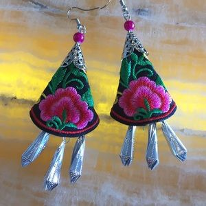 Jewelry - Boho, Baliwood inspired Earrings, Dangle Earring